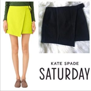 Kate Spade Saturday Buckle Over Mini Skirt Sz 0